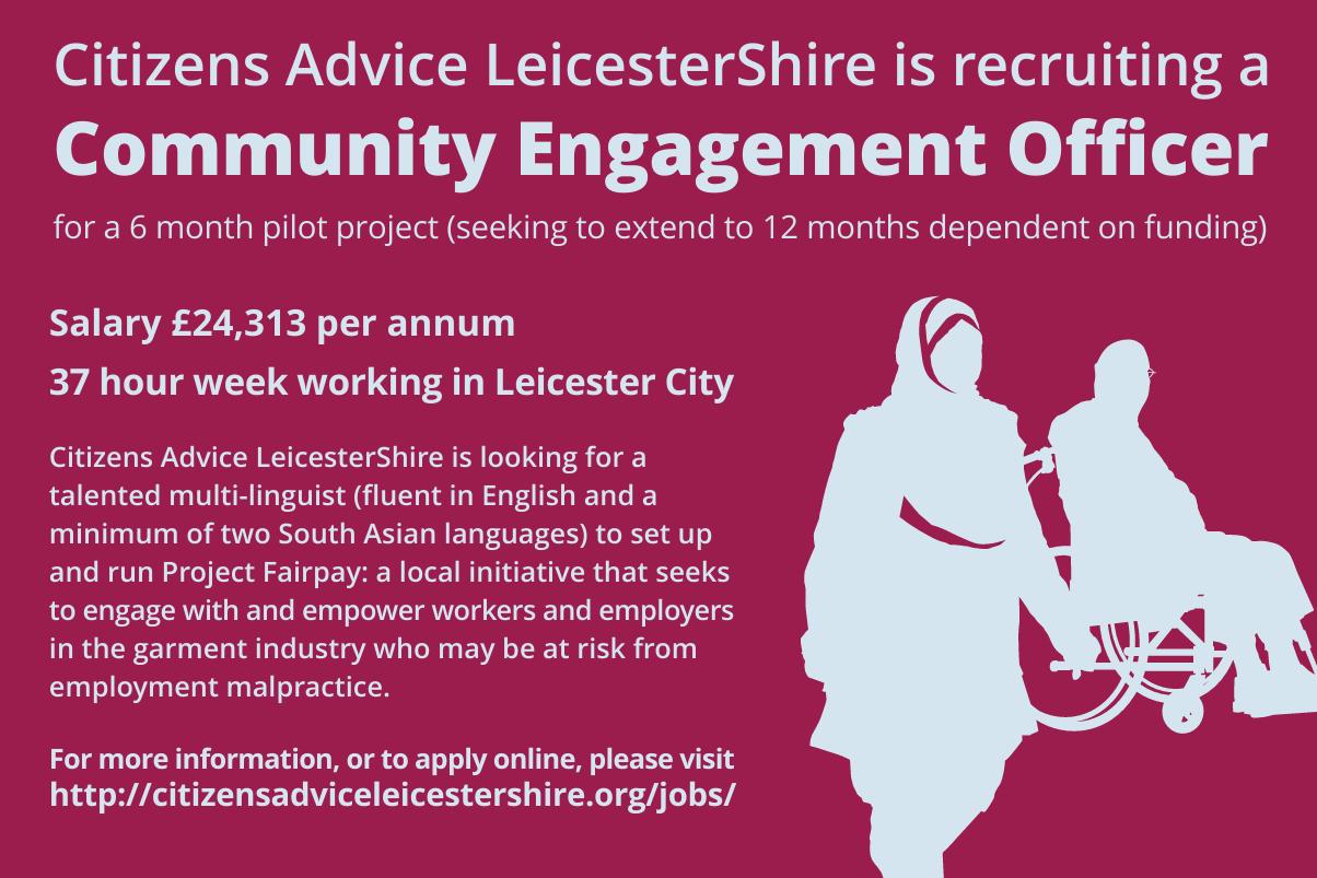 Community Engagement Officer advert